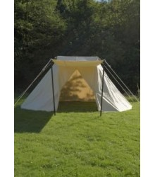 Saxon Tent , 3 x 5 m, cotton, with inner wall