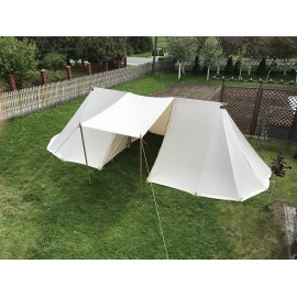 Long Geteld Tent - 3 x 12 m - cotton