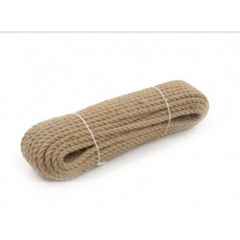Jute rope 8mm diameter, 50m length.
