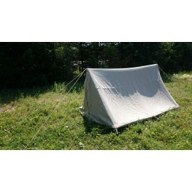 Large Wedge - A-Tent - 5 x 3 m - Linen