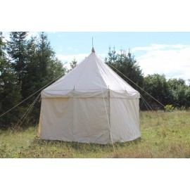 Square Tent 3 x 3m - cotton