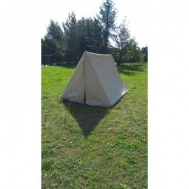 Wedge A Tent - 2 x 3 m - impregnated cotton